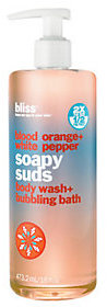 Bliss bliss Blood Orange+White Pepper Soapy Suds