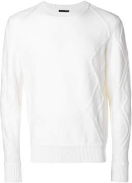 La Perla textured crew neck sweater