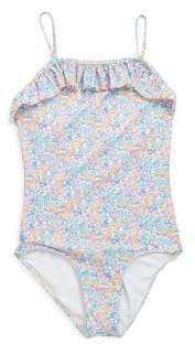 Ralph Lauren Toddler's Floral One-Piece Swimsuit