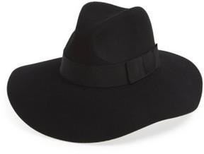 Brixton Women's 'Piper' Floppy Wool Hat - Black