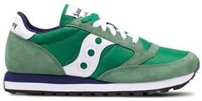 Saucony Men's Green Fabric Sneakers.