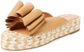 Sigerson Morrison Women's Verane Bow Slip-On Sandal