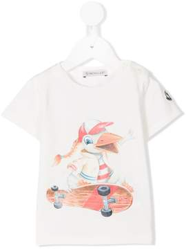 Moncler cartoon print T-shirt