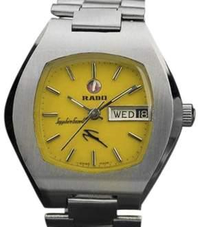 Rado Sapphire Gazelle Stainless Steel Automatic 36mm Mens Watch 1970s