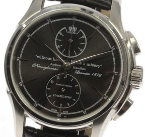 Hamilton Spirit of Liberty H325160 Stainless Steel Automatic 43mm Mens Watch