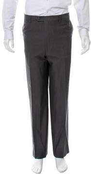 Luciano Barbera Flat Front Relaxed-Fit Pants