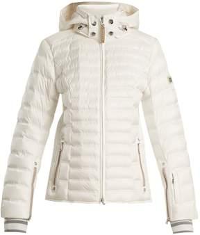 Bogner Nasha hooded quilted-down ski jacket