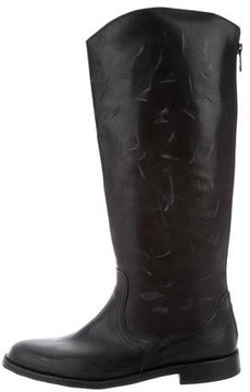 Anine Bing Distressed Knee-High Boots w/ Tags