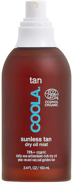 Coola Sunless Tan Dry Body Oil.