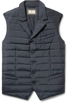 Hackett Quilted Shell Down Gilet