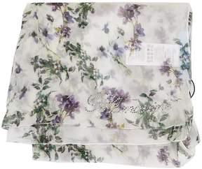 Blumarine Floral Embellished Scarf