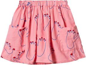 Bobo Choses Strawberry Ice Footprint Skirt