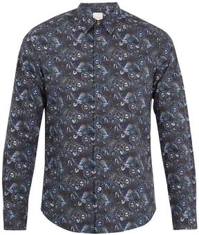 Paul Smith Sun-print single-cuff cotton shirt