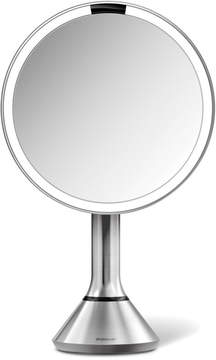 Simplehuman 8 Round Sensor Mirror with Touch-Control Brightness