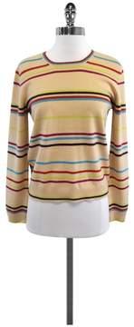 Christopher Fischer MultiColor Striped Cashmere Sweater