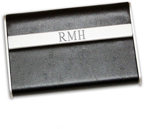Accessories Engravable Leather Business Card Case