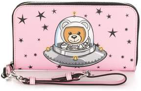 Moschino space teddy wallet