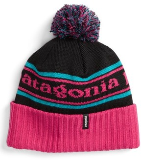 Patagonia Women's 'Powder Down' Beanie - Pink