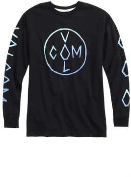Volcom Toddler Boy's Cross Long Graphic T-Shirt
