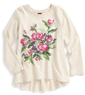 Tea Collection Girl's Sweet Pea High/low Tee