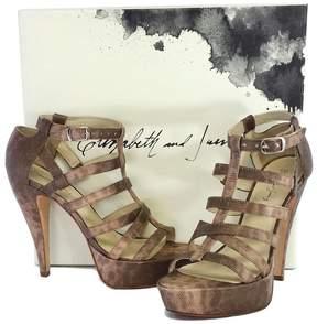 Elizabeth and James Manic Platform Gladiator Sandals