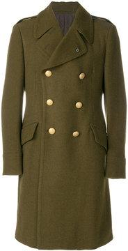 Lardini buttoned military coat
