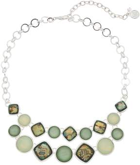 Dana Buchman Simulated Abalone Collar Necklace