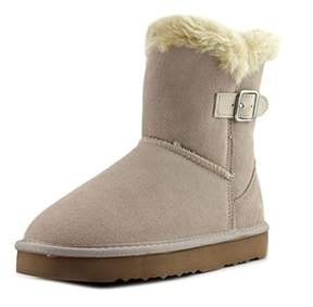 Style&Co. Style & Co Tiny 2 Women Round Toe Suede Ivory Winter Boot.