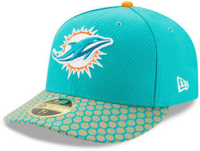 New Era Miami Dolphins Sideline Low Profile 59FIFTY Fitted Cap