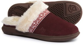 Spenco Nordic Slide Slippers - Suede (For Women)