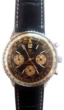 Breitling Navitimer Stainless Steel Chronograph Vintage 41mm Mens Watch