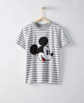 Hanna Andersson Disney Mickey Mouse Sueded Jersey Art Tee