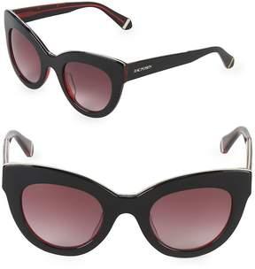 Zac Posen Women's Jacqueline 49MM Butterfly Sunglasses