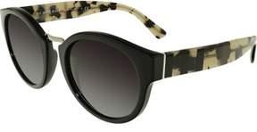 Burberry Women's Gradient BE4227-36098G-50 Black Round Sunglasses