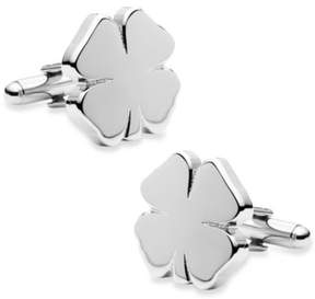 Bed Bath & Beyond Four Leaf Clover Cufflinks
