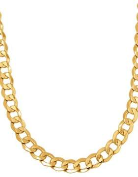 Lord & Taylor 14K Yellow Gold Chain-Link Necklace