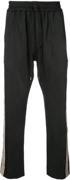 Cmmn Swdn side stripe BUCK track pants