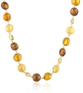 Antica Murrina Veneziana Women's Yellow Other Materials Necklace.