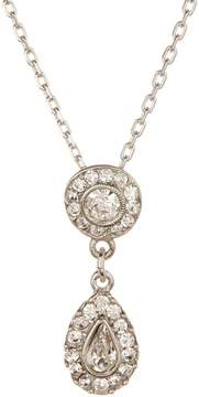 Ben-Amun Crystal Teardrop Pendant Necklace