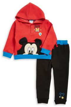 Nannette Baby Boy's Two-Piece Mickey Mouse Hoodie and Jogger Pants Set