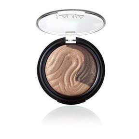 Laura Geller Baked Eclipse Eye Shadow Duo, Champagne / Caviar.