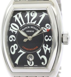 Franck Muller Franch Muller Conquistador Stainless Steel Automatic 35mm Mens Watch