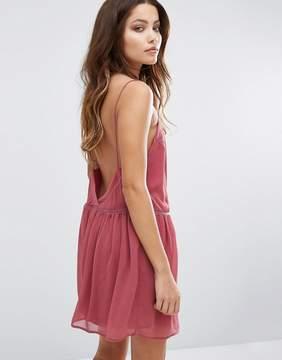 BA&SH Low Back Mini Dress