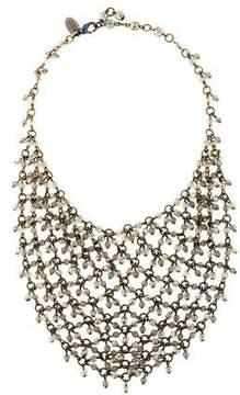 Erickson Beamon Crystal Beaded Bib Necklace