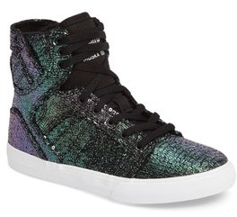 Supra Toddler 'Skytop' High Top Sneaker