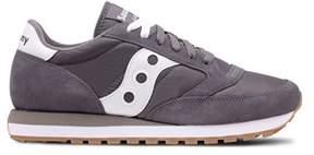 Saucony Men's Grey Fabric Sneakers.