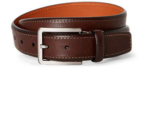 Trafalgar Brown Austin Italian Leather Belt