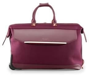 Ted Baker 22-Inch Large Front Pocket Rolling Duffel Bag