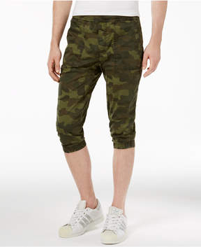 American Rag Men's Camo Print Cropped Joggers, Created for Macy's