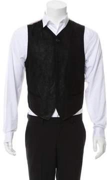 Ann Demeulemeester Reversible Leather Vest
